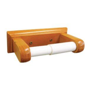 Wooden Toilet Roll Holder