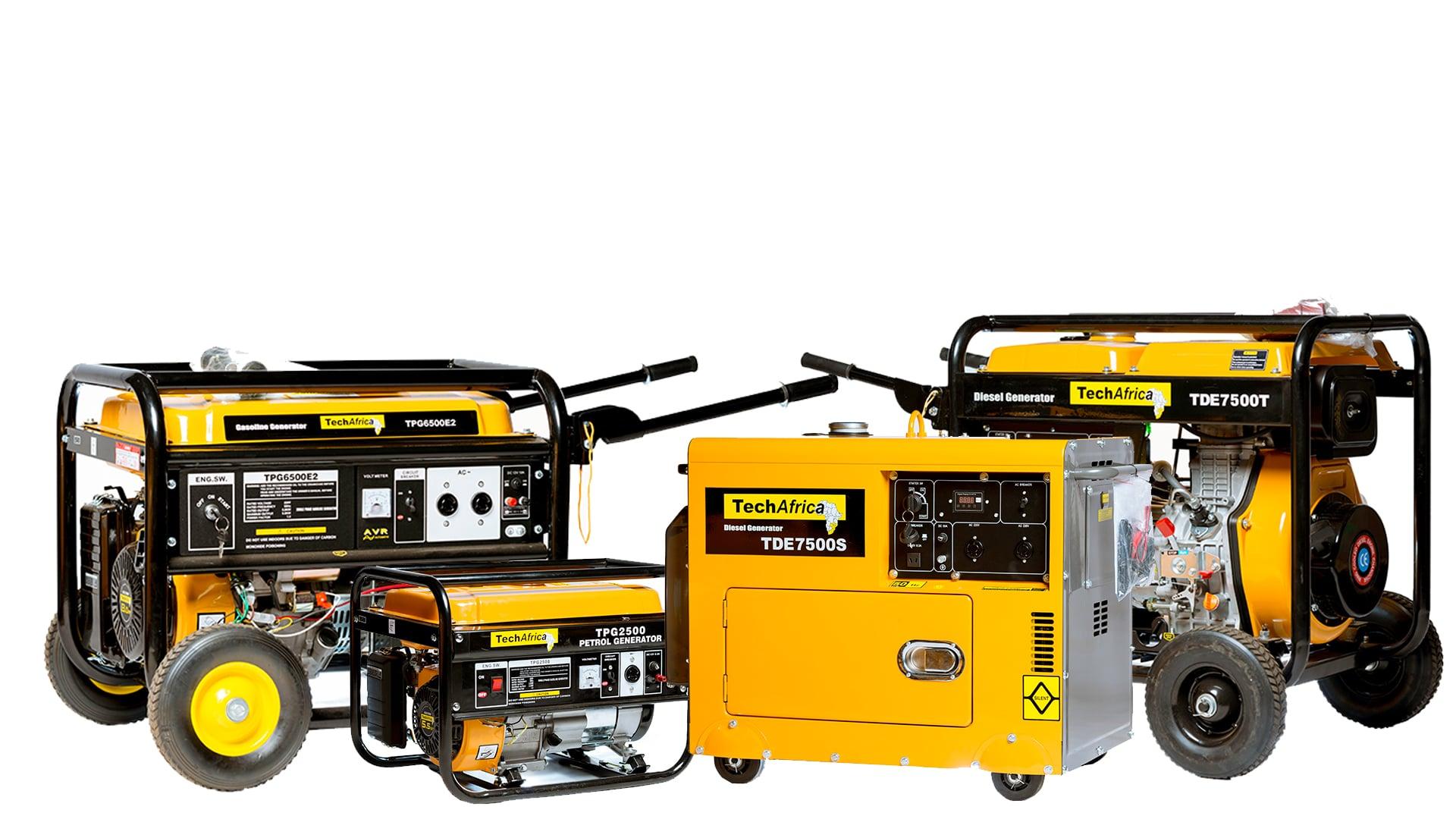 diesel and petrol generators for sale in Harare, Zimbabwe